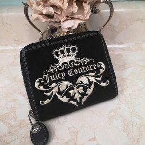 Authentic Nwot Juicy Couture black wallet